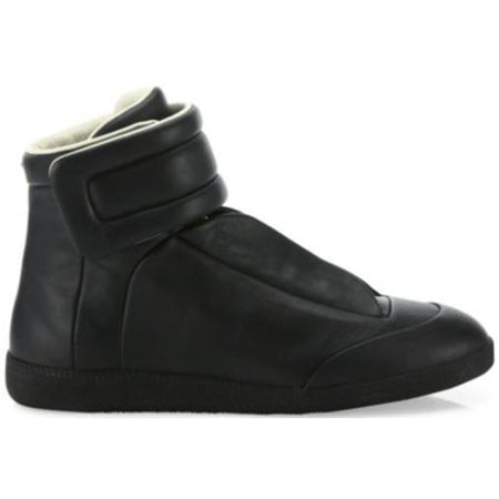 MAISON MARGIELA Future Hi Sneakers, Black/ Gold