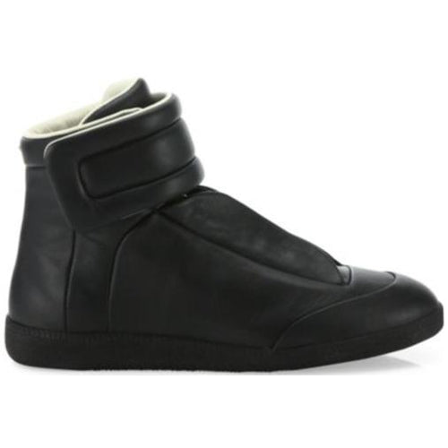 MAISON MARGIELA Womens Future Hi-Top Sneaker, Black-OZNICO