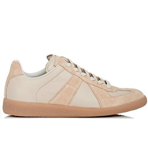 MAISON MARGIELA Womens Replica Low, Cream-OZNICO