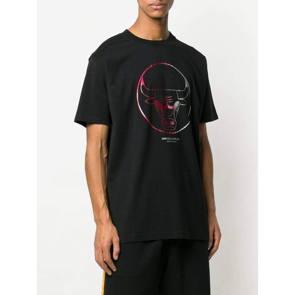 MARCELO BURLON Chicago Bulls T-Shirt, Black-OZNICO