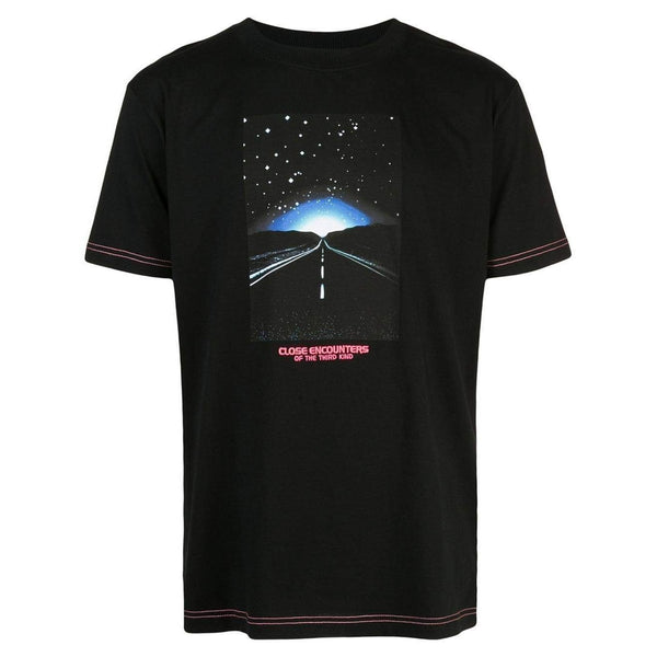 MARCELO BURLON Close Encounters Print T-Shirt, Black/ Multi-OZNICO
