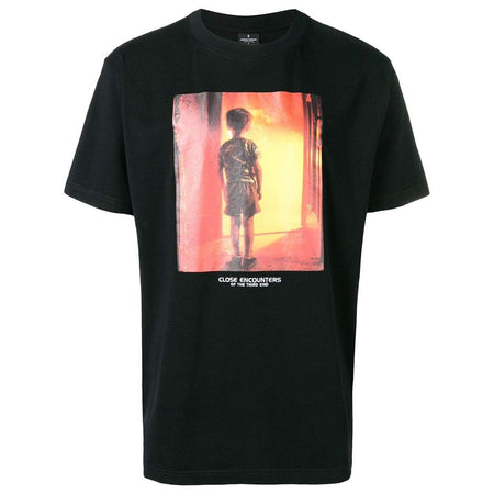 MARCELO BURLON Close Encounters All Over Print T-Shirt, Black/ Multi