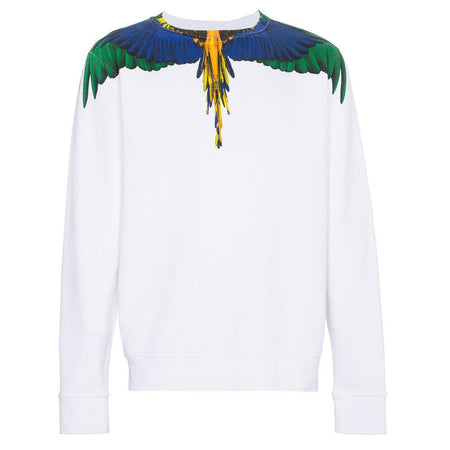 MARCELO BURLON Wings Alpha MA-1 Jacket, Black/ Green