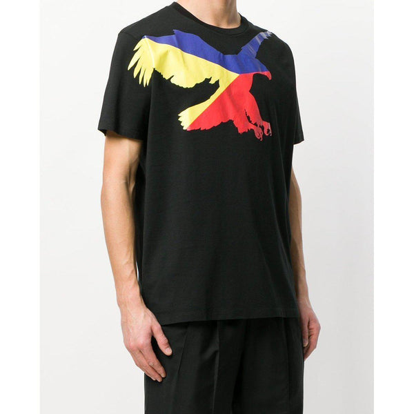 MARCELO BURLON Eagle T-Shirt, Black/ Multi-OZNICO
