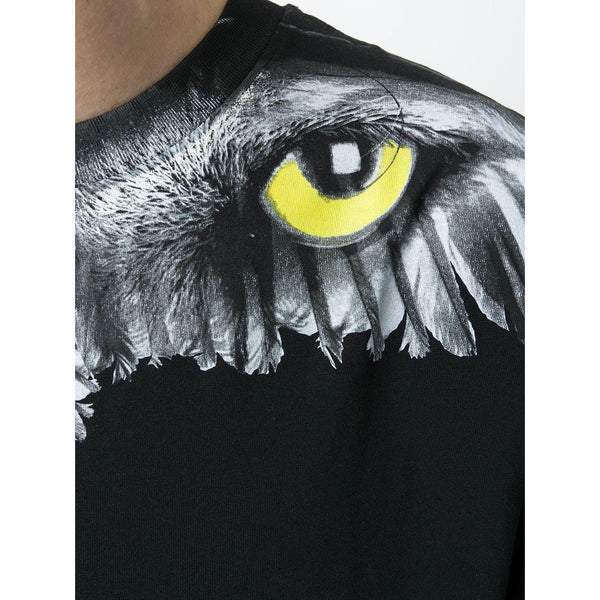 MARCELO BURLON Eye Wing T-Shirt, Black-OZNICO
