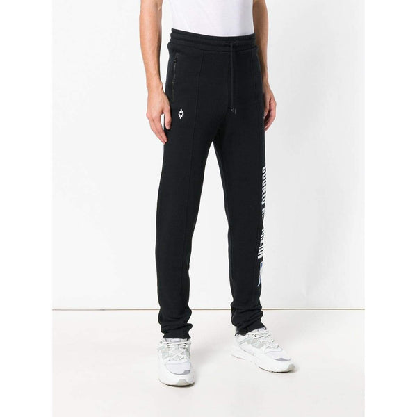 MARCELO BURLON NBA Sweatpants, Black-OZNICO