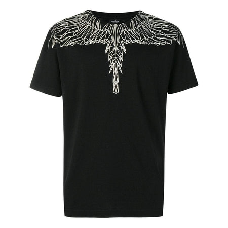 MARCELO BURLON Wings Print T-Shirt, White/ Red