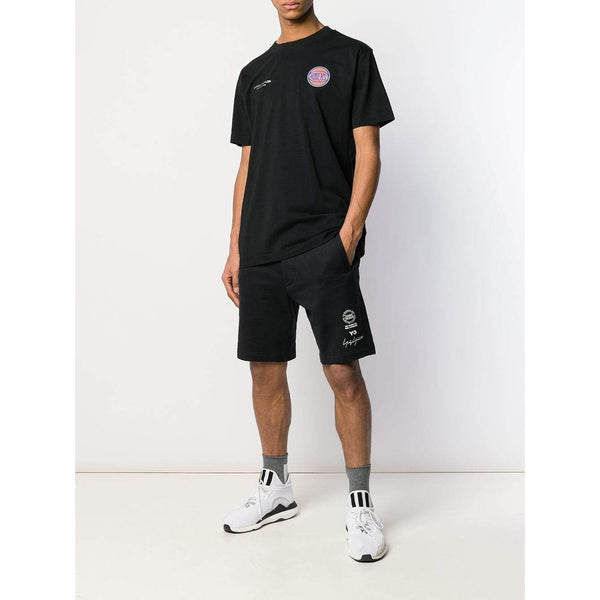MARCELO BURLON NY Knicks T-Shirt, Black-OZNICO