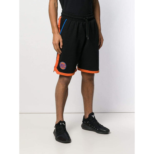 MARCELO BURLON NY Knicks Tape Shorts, Black/ Multi-OZNICO