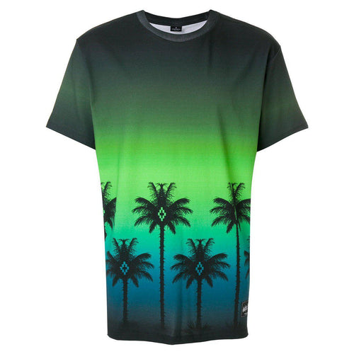 MARCELO BURLON Palms T-Shirt, Green/ Multi-OZNICO