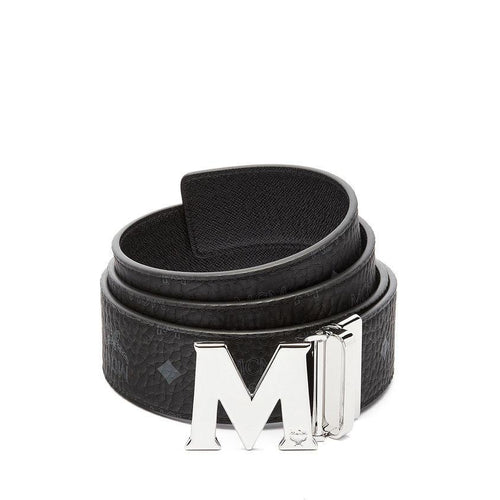 "MCM Claus Reversible Belt 1.75"", Black-OZNICO"