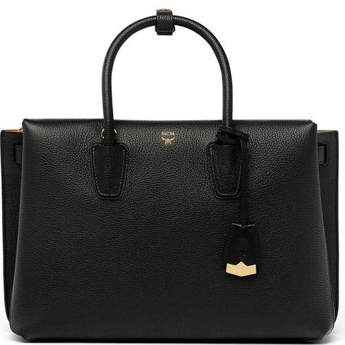 MCM Large Milla Leather Tote-OZNICO