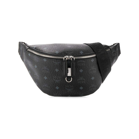 "MCM M Reversible Belt 1.5"" in Visetos, Berlin Silver"