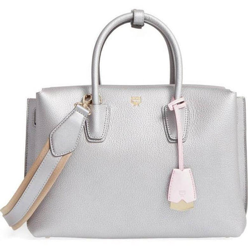 MCM Medium Milla Leather Tote-OZNICO