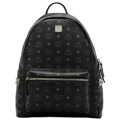 MCM Dieter Teardrop Backpack in Monogram Nylon, Black