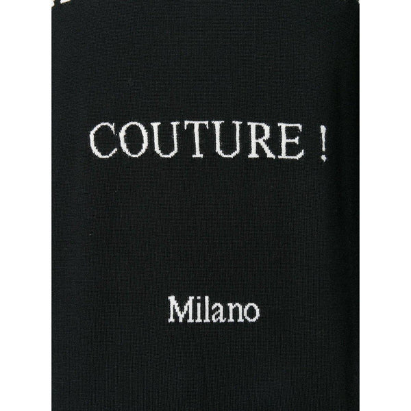 MOSCHINO Couture Milano Sweater, Black-OZNICO