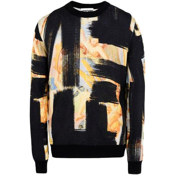 MOSCHINO Sweater, Black-OZNICO