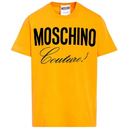 MOSCHINO Logo T-Shirt, Dark Yellow