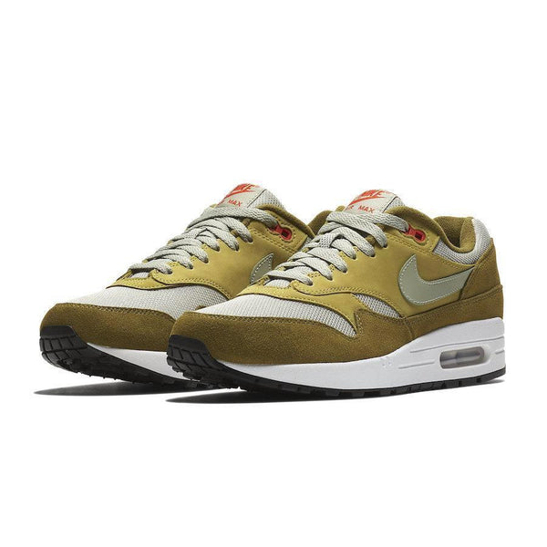 "NIKE Air Max 1 Premium Retro, ""Green Curry""-OZNICO"