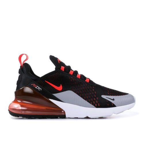 NIKE Air Max 270, Black/ Bright Crimson-OZNICO