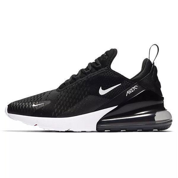 NIKE Air Max 270, Black/ White-OZNICO