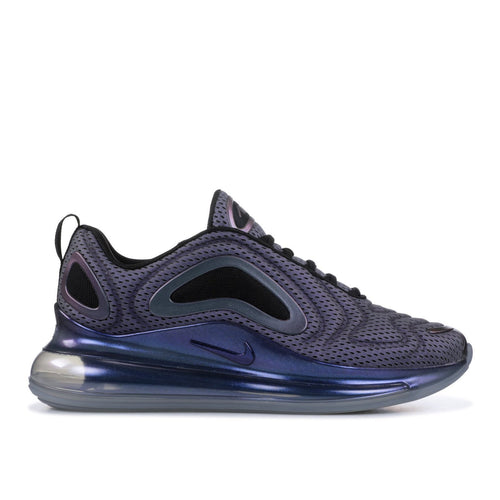 NIKE Air Max 720, Metallic Silver/ Black-OZNICO