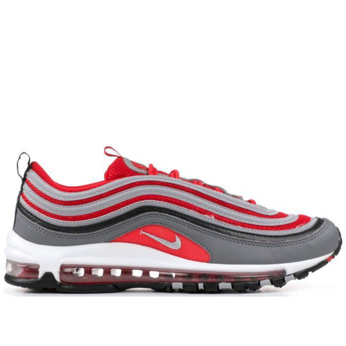 NIKE Air Max '97, Dark Grey/ Gym Red-OZNICO