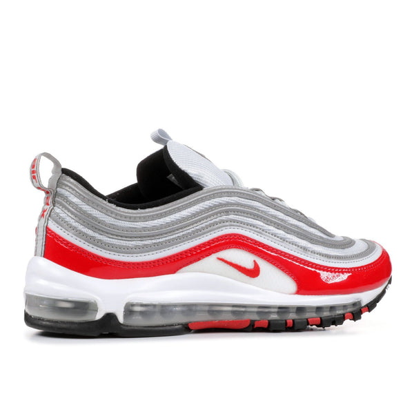purchase cheap cb7dc 063d9 NIKE Air Max '97, Pure Platinum/ University Red