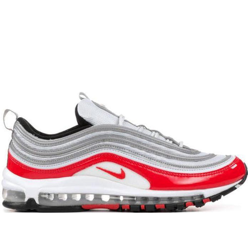 NIKE Air Max '97, Pure Platinum/ University Red-OZNICO