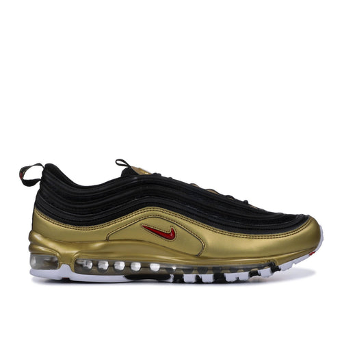 "NIKE Air Max '97 QS, ""B-Sides Metallic Gold""-OZNICO"