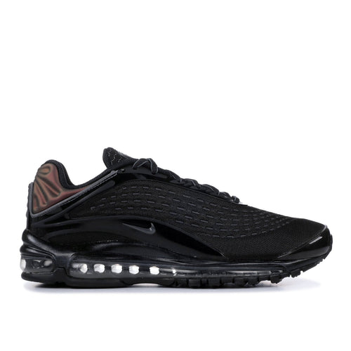 NIKE Air Max Deluxe, Black/ Dark Grey-OZNICO