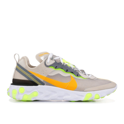 NIKE React Element 87, Light Orewood Brown-OZNICO
