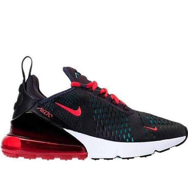 NIKE WMNS Air Max 270, Oil Grey/ Speed Red-OZNICO