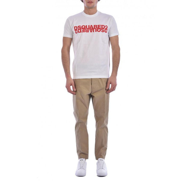 DSQUARED2 Logo T-Shirt, White