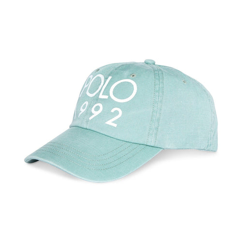 POLO RALPH LAUREN 1992 Twill Sports Cap, Faded Mint-OZNICO