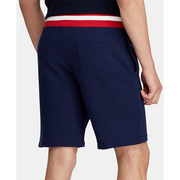 "POLO RALPH LAUREN 9.5"" Fleece Shorts, Navy-OZNICO"