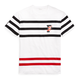 POLO RALPH LAUREN Active Fit P-Wing Graphic Tee, White-OZNICO