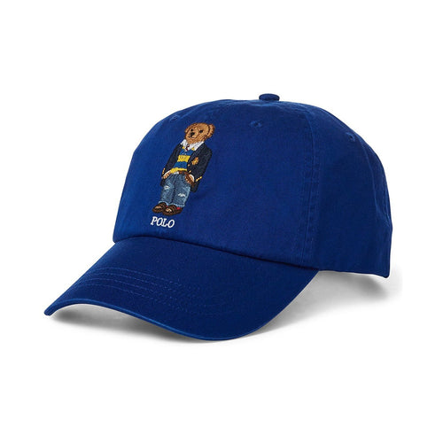POLO RALPH LAUREN Bear Baseball Cap, Blue-OZNICO