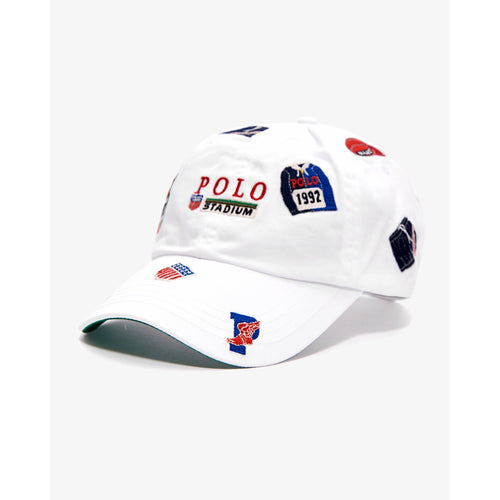 POLO RALPH LAUREN Chariots Of Fire 1992 Twill Sports Cap, White-OZNICO