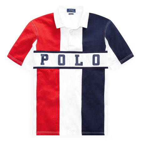 POLO RALPH LAUREN Custom Slim Fit Graphic Chariots T-Shirt, White