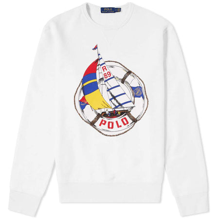 POLO RALPH LAUREN CP-93 Double-Knit Track Jacket, White
