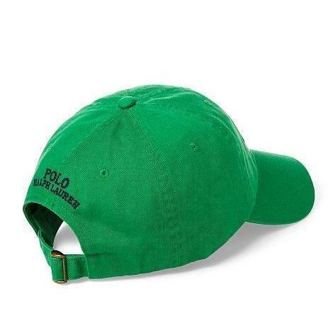 POLO RALPH LAUREN CP-93 Cotton Chino Cap, Green-OZNICO
