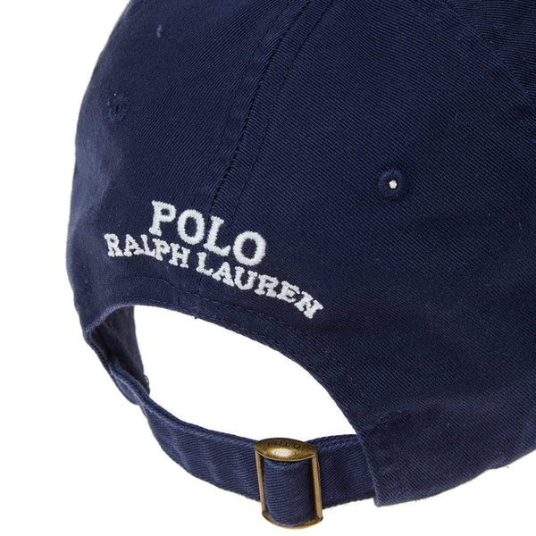 POLO RALPH LAUREN CP-93 Cotton Chino Cap, Navy-OZNICO