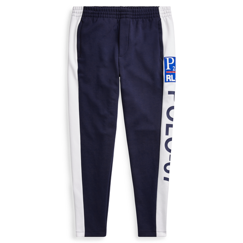POLO RALPH LAUREN CP-93 Double-Knit Track Pant, Navy-OZNICO