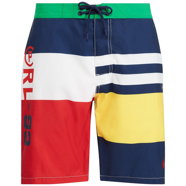 POLO RALPH LAUREN CP-93 Swim Trunks, Boating Stripe-OZNICO