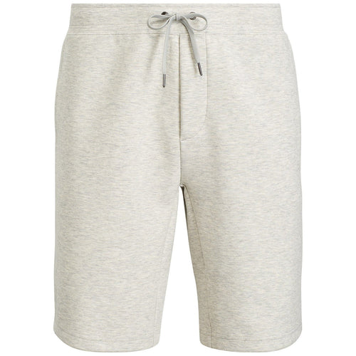 POLO RALPH LAUREN Double-Knit Active Shorts, Grey Heather-OZNICO