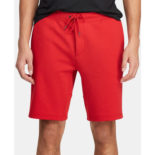 POLO RALPH LAUREN Double-Knit Active Shorts, Red-OZNICO