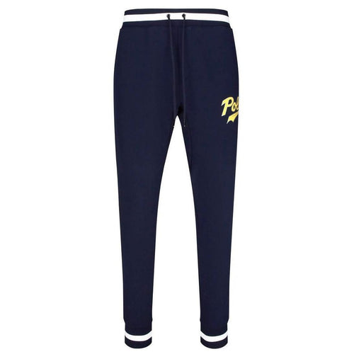 POLO RALPH LAUREN Double-Knit Graphic Jogger Pants, Aviator Navy-OZNICO