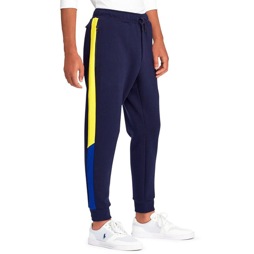 POLO RALPH LAUREN Double Knit Tech Sweatpant, Navy-OZNICO