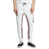 POLO RALPH LAUREN Double-Knit Track Pant, White-OZNICO